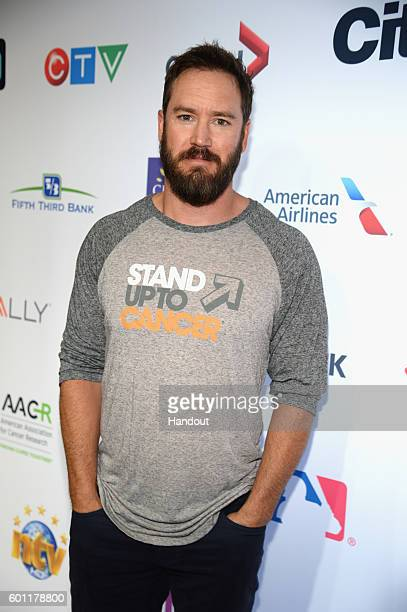 In this handout photo provided by American Broadcasting Companies Inc actor MarkPaul Gosselaar attends Stand Up To Cancer a program of the...