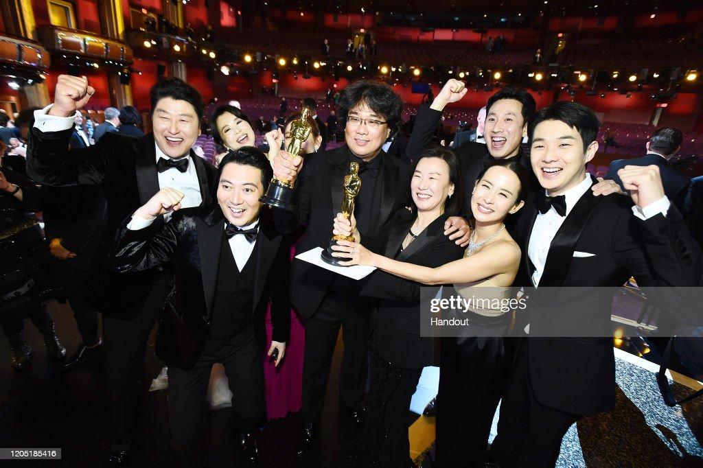 92nd Annual Academy Awards - Backstage : Nieuwsfoto's