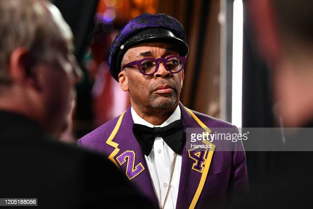 In this handout photo provided by A.M.P.A.S. Spike Lee stands backstage during the 92nd Annual Academy Awards at the Dolby Theatre on February 09,...