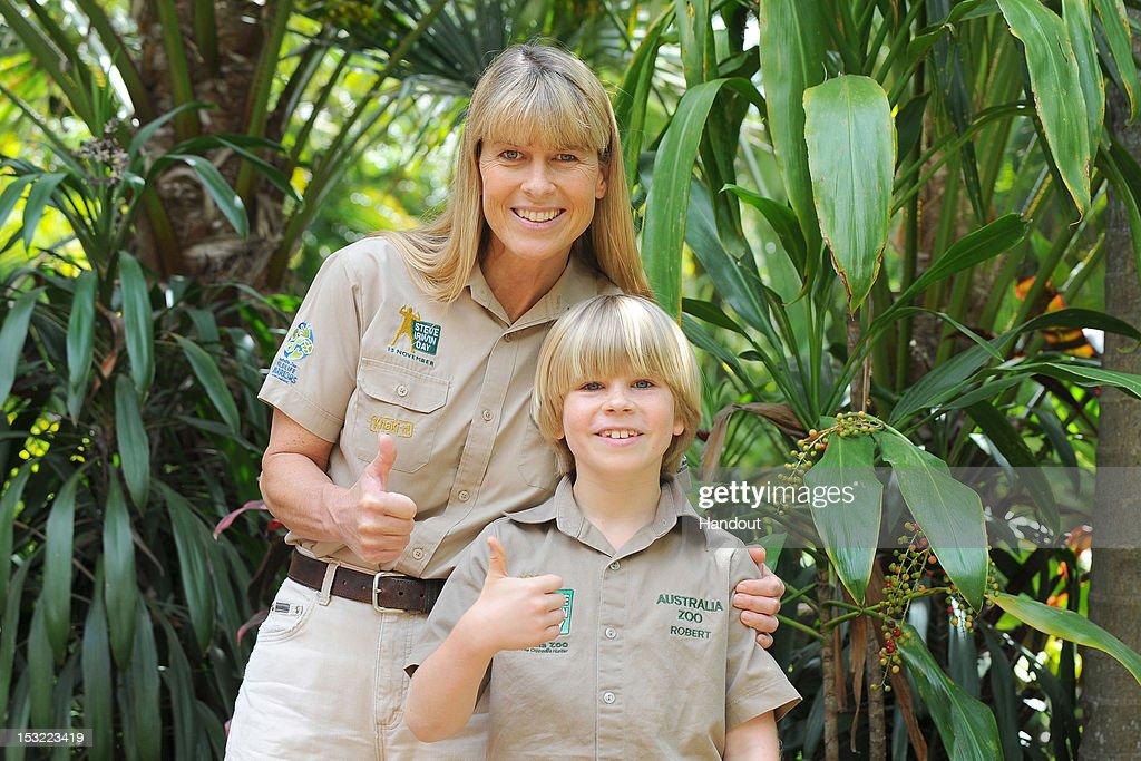 Robert Irwin Feeds Freshwater Crocodiles At Australia Zoo