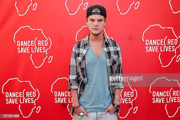 In this handout photo provided by Avicii poses backstage for DANCE SAVE LIVES during Stereosonic 2012 at Melbourne Showgrounds on December 1 2012 in...