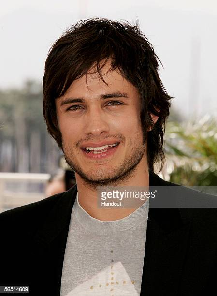 In this handout photo provided by BAFTA actor and nominee for this year's The Orange Rising Star Award Gael Garcia Bernal poses Voted for by the...