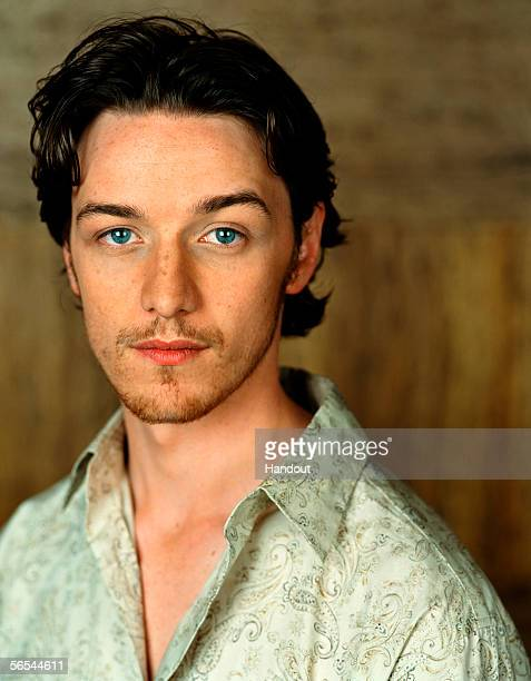In this handout photo provided by BAFTA actor and nominee for this year's The Orange Rising Star Award James McAvoy poses Voted for by the public and...
