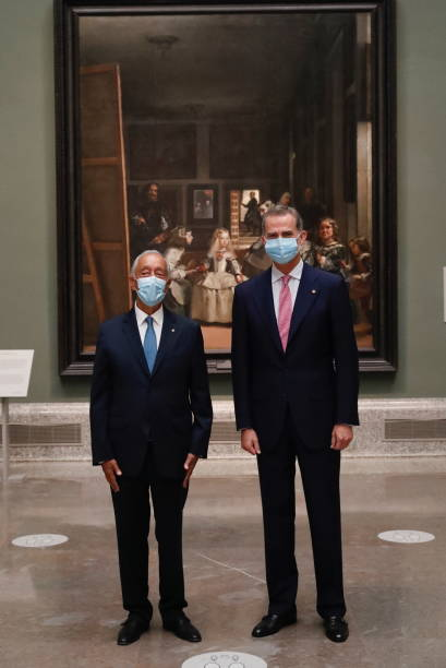 ESP: Portuguese President Marcelo Rebelo de Sousa Visits Spain