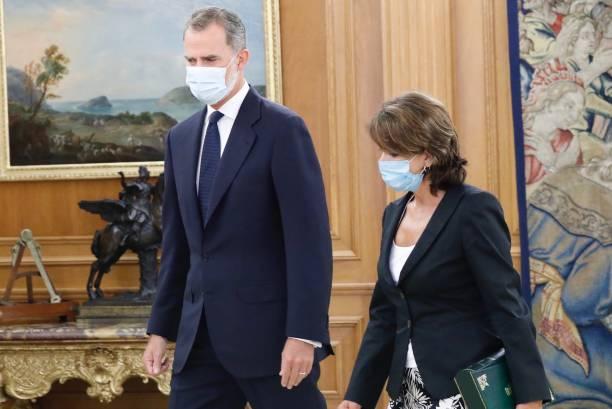 ESP: King Felipe VI Of Spain Receives Attorney General Of The State Dolores Delgado