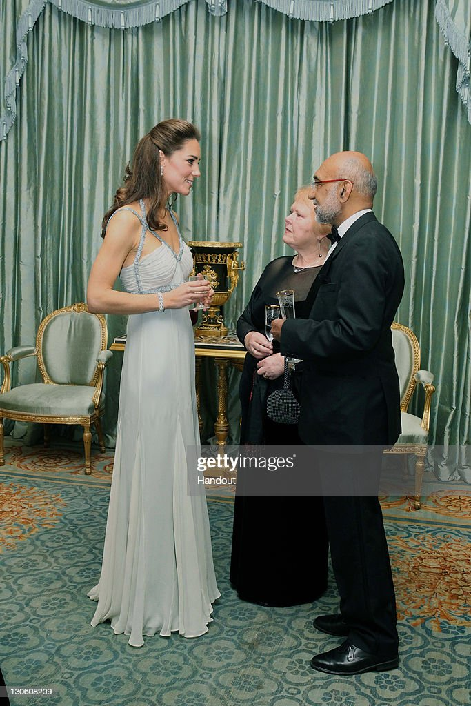 Catherine, Duchess Of Cambridge Attends 'In Kind Direct' Charity Event At Clarence House : News Photo