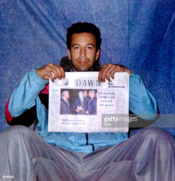 In this handout photo provided by CNN, Wall Street Journal reporter Daniel Pearl is seen in this picture sent to news media organizations by his...