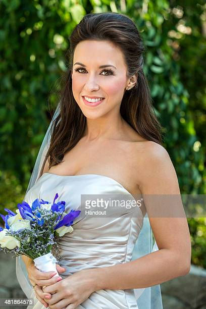 In this handout photo provided by Crown Media Hallmark Movie Channel's 'The Color of Rain' starring Lacey Chabert and Warren Christie and based on...