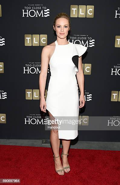 In this handout photo provided by Discovery Actress Danielle Savre attends TLC 'Too Close To Home' Screening at The Paley Center for Media on August...