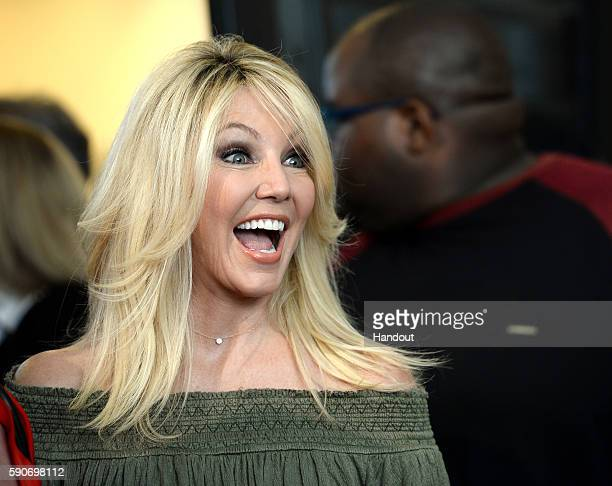 In this handout photo provided by Discovery Actress Heather Locklear attends TLC 'Too Close To Home' Screening at The Paley Center for Media on...