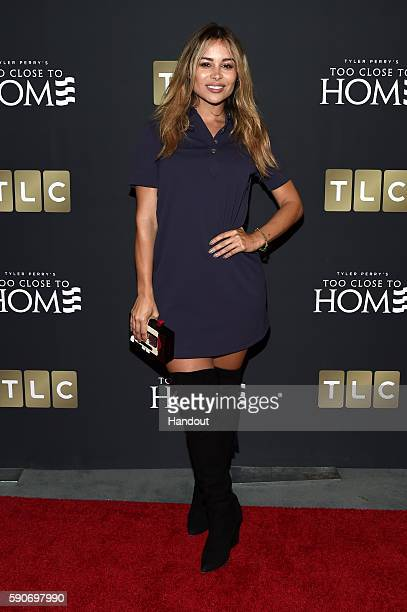 In this handout photo provided by Discovery Actress Zulay Henao attends TLC 'Too Close To Home' Screening at The Paley Center for Media on August 16...
