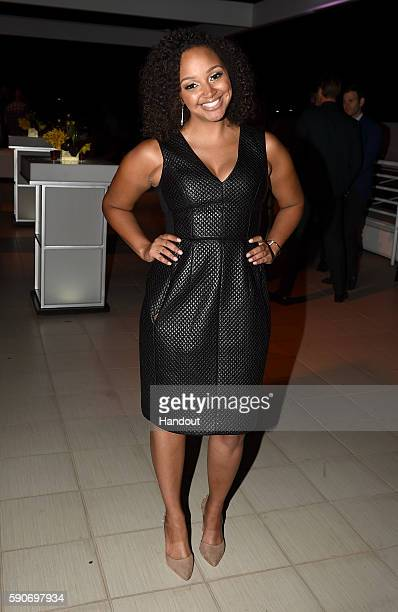 In this handout photo provided by Discovery TLCme Host Danni Starr attends TLC 'Too Close To Home' Screening at The Paley Center for Media on August...