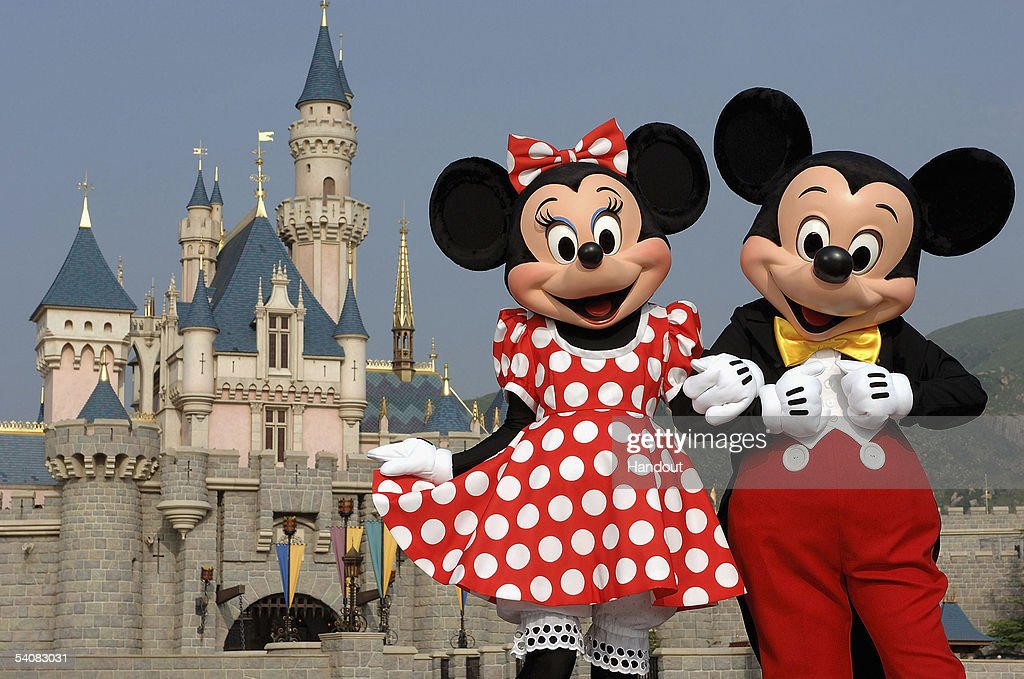 Mickey And Minnie Mouse Welcome Everyone To Hong Kong Disneyland Resort : News Photo