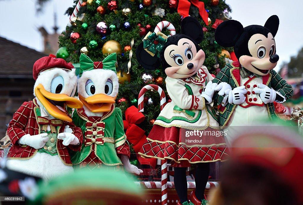 Disney Parks Frozen Christmas Celebration TV Special : News Photo