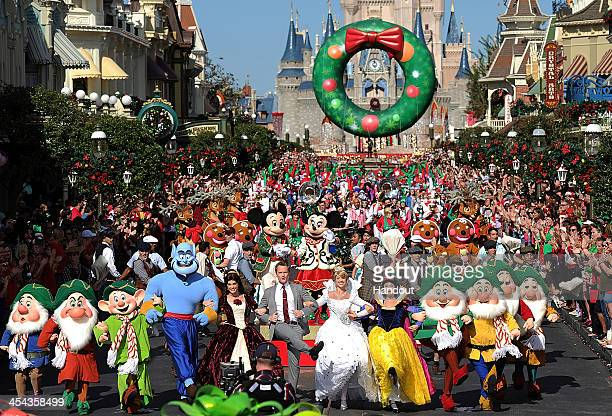 in this handout photo provided by disney parks actor neil patrick harris hosts and performs in neil patrick harris hosts the disney christmas day parade - Disney Christmas Day Parade