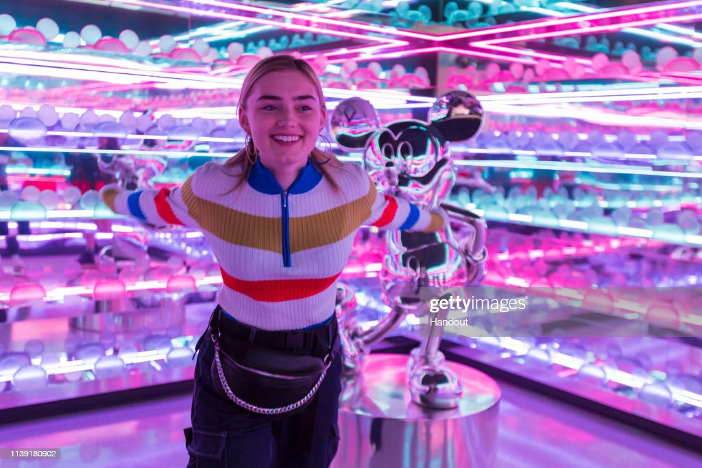 CA: Meg Donnelly Previews Pop-Up Disney! A Mickey Celebration in the Downtown Disney