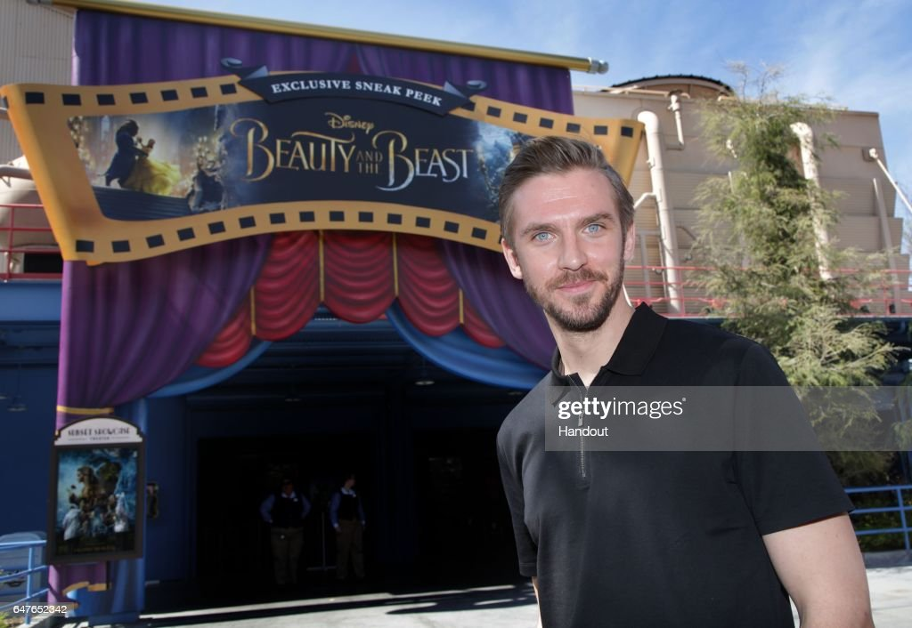 Dan Stevens Visits Disney California Adventure Park