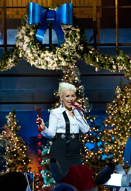 in this handout photo provided by disney parks christina aguilera performs have yourself a - Have Yourself A Merry Little Christmas Christina Aguilera
