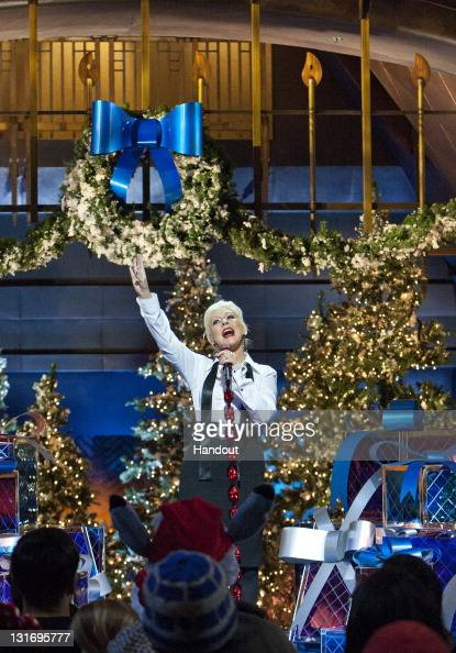 Have Yourself A Merry Little Christmas Christina Aguilera.In This Handout Photo Provided By Disney Parks Christina