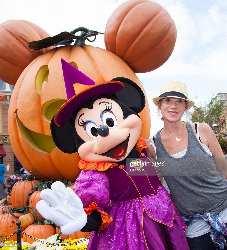 "Christina Applegate And Daughter Celebrate ""Halloween Time"" at Disneyland : News Photo"