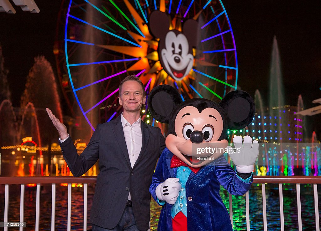 "Neil Patrick Harris Joins Mickey Mouse in All-New Disneyland Water Spectacular ""World of Color - Celebrate!"""