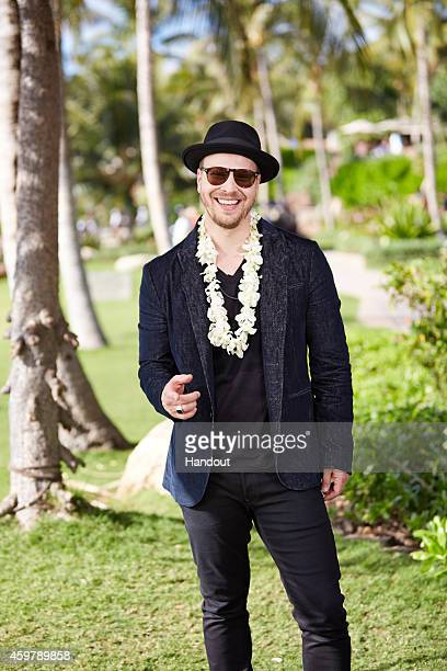 In this handout photo provided by Disney Parks Gavin DeGraw is photographed' at Aulani a Disney Resort Spa during production of 'Disney Parks Frozen...