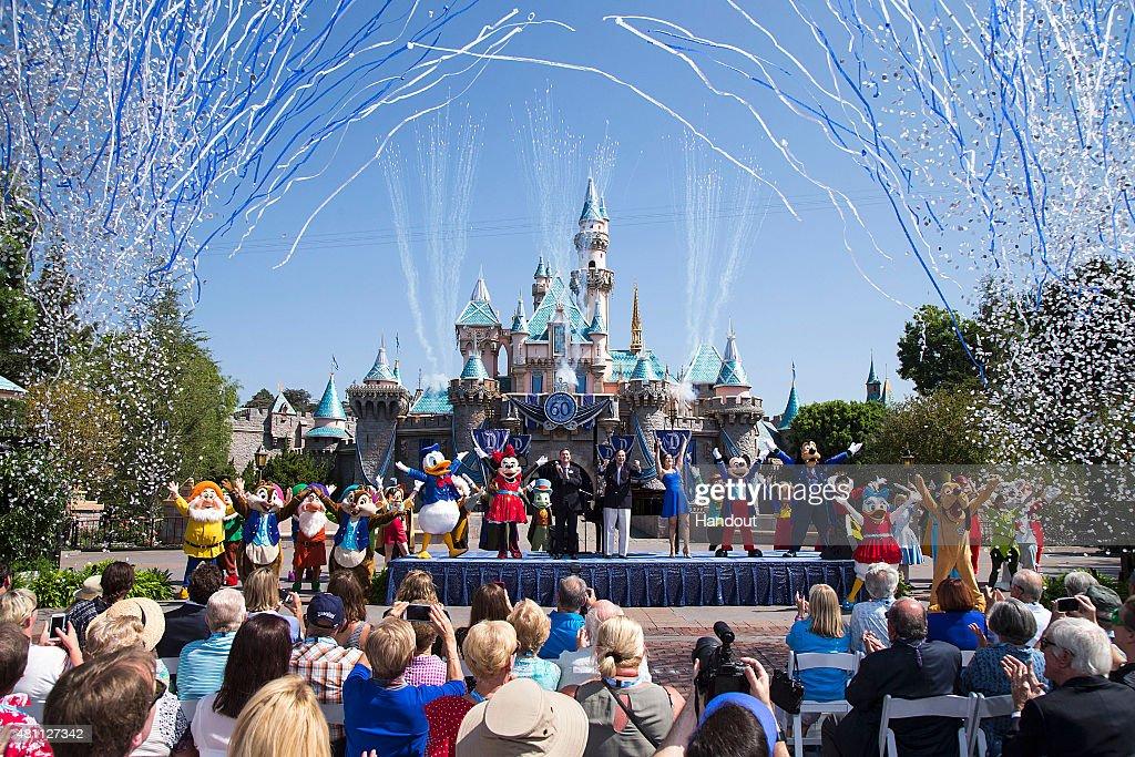 Disneyland Turns 60 : News Photo