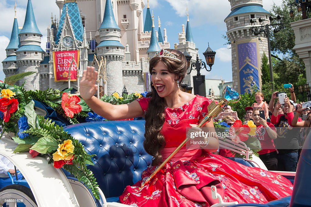 Princess Elena Of Avalor Arrives At Walt Disney World