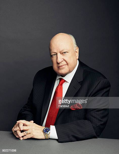 In this handout photo provided by FOX News FOX News Channel Chairman and CEO Roger Ailes is photographed November 13 2015 at the networks Manhattan...