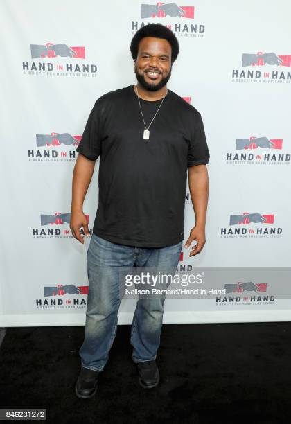 In this handout photo provided by Hand in Hand Craig Robinson attends Hand in Hand A Benefit for Hurricane Relief at Universal Studios AMC on...