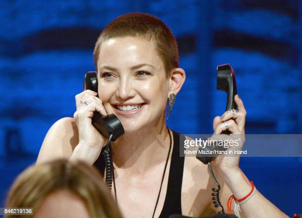 In this handout photo provided by Hand in Hand Kate Hudson attends Hand in Hand A Benefit for Hurricane Relief at Universal Studios AMC on September...