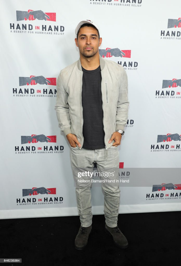 In this handout photo provided by Hand in Hand, Wilmer Valderrama attends Hand in Hand: A Benefit for Hurricane Relief at Universal Studios AMC on September 12, 2017 in Universal City, California.