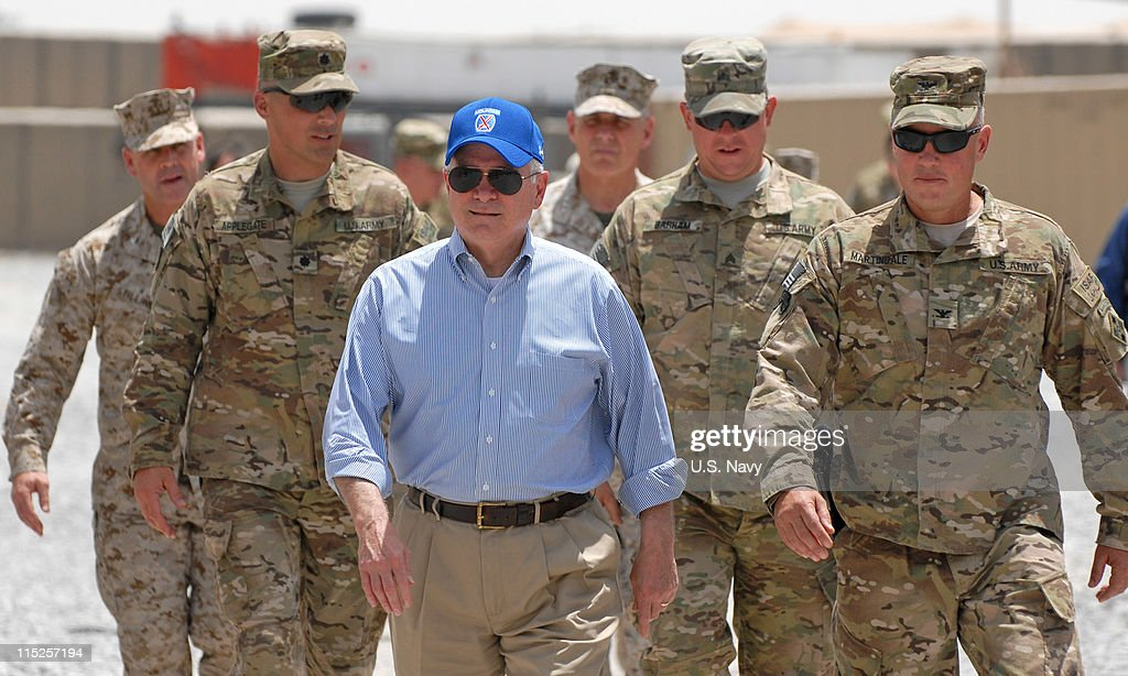 US Secretary of Defense Gates Visits Afghanistan