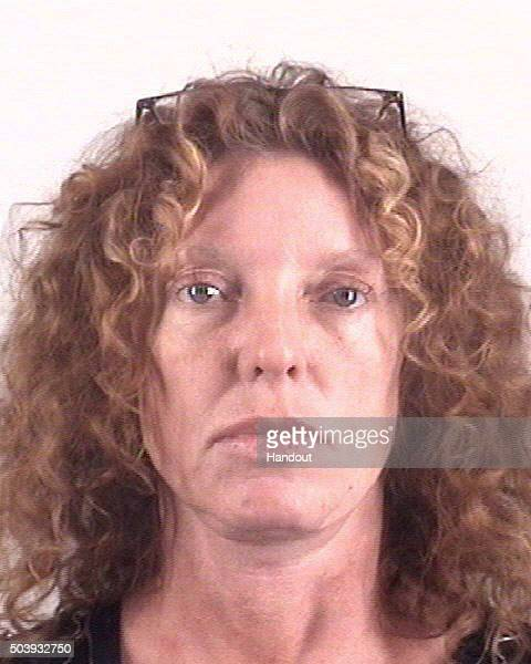In this handout photo provided by Lon Evans Correctional Center Tonya Couch appears for a booking photon on January 7 2016 in Fort Worth Texas Tonya...