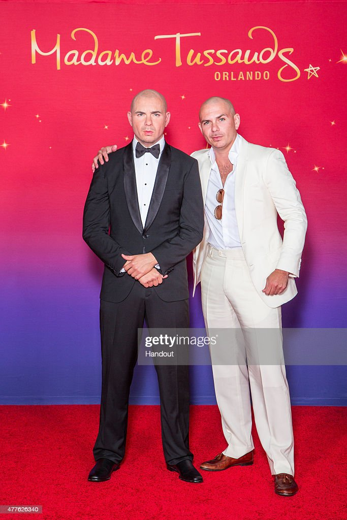 Madame Tussauds Orlando Unveils Figure Of Rapper Pitbull