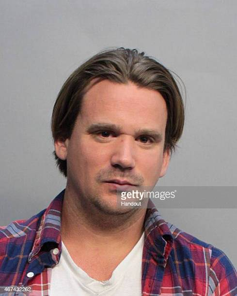 In this handout photo provided by MiamiDade Police Department Sean Stewart the son of singer Rod Stewart and Alana Collins is seen in a police...