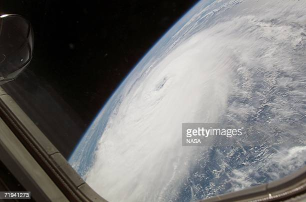 In this handout photo provided by NASA Hurricane Helene was captured at 182014 GMT on September 17 2006 with a digital still camera equipped with a...