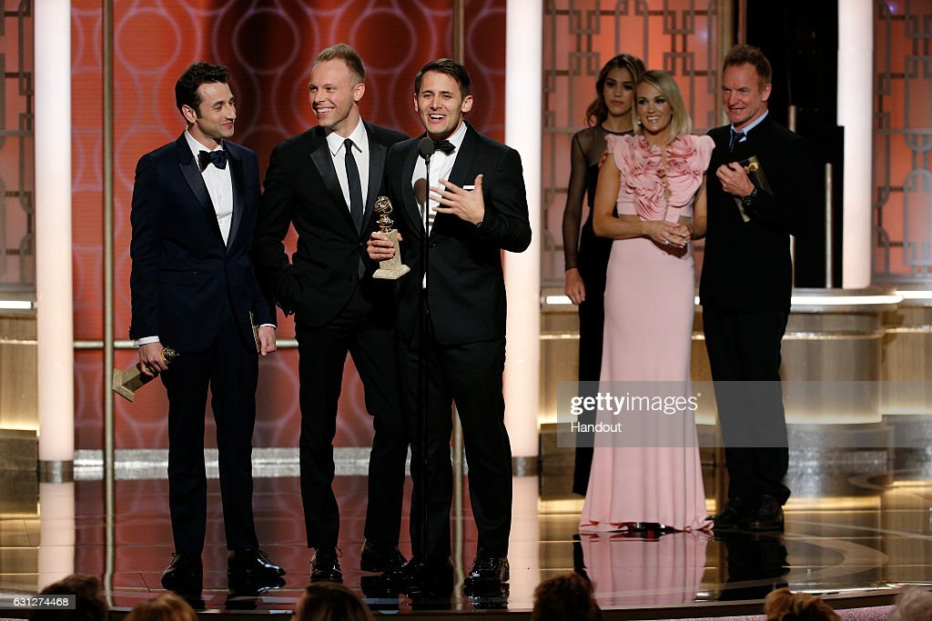 74th Annual Golden Globe Awards - Show : News Photo