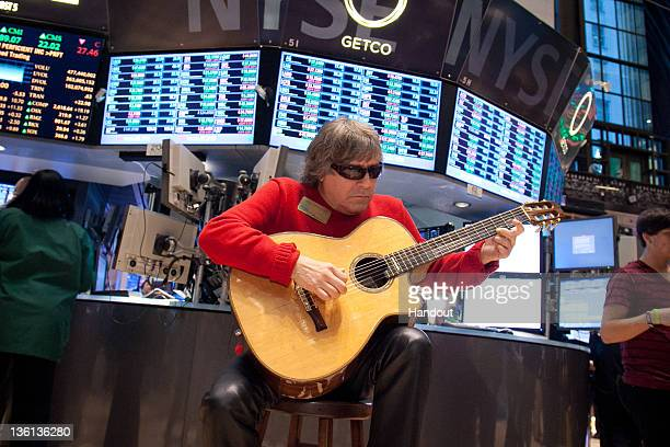 In this handout photo provided by NYSE Euronext Representatives from The MakeAWish Foundation of Connecticut visit the New York Stock Exchange on...