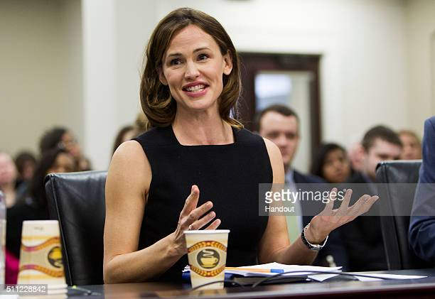 In this handout photo provided by Save the Children actress Jennifer Garner who serves as a Save the Children trustee and artist ambassador and Save...