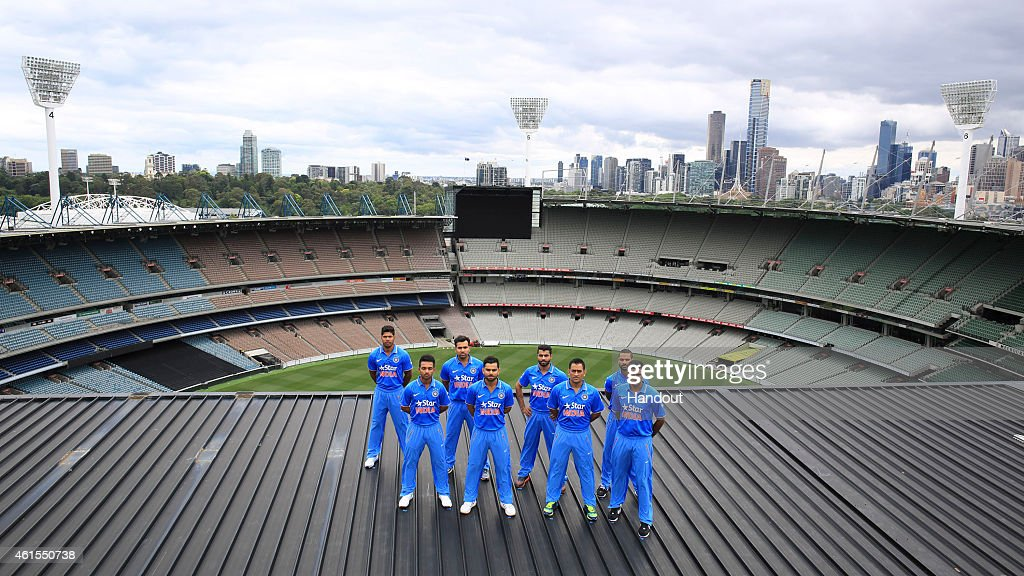 Team India Unveils New One Day International Kit : News Photo