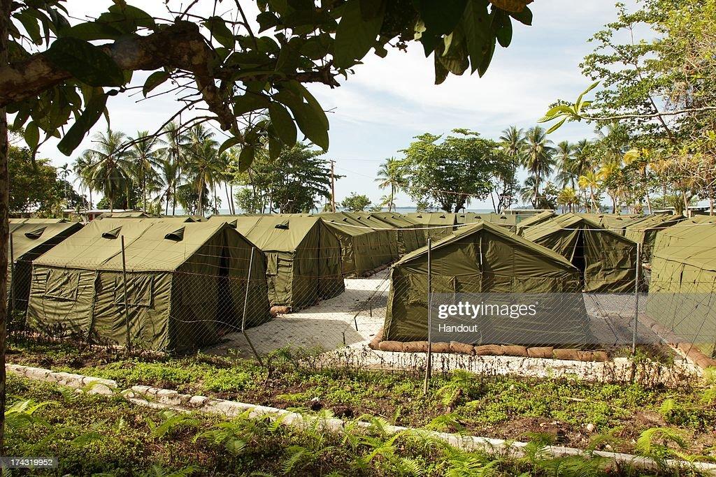 (FILE) Manus Island Detention Centre : News Photo