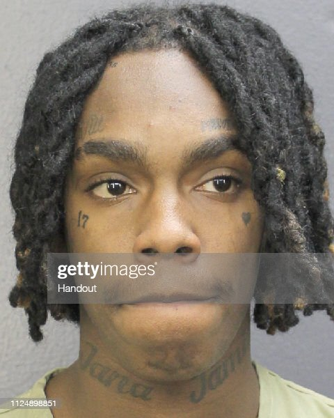 YNW Melly Police Booking Photo : News Photo