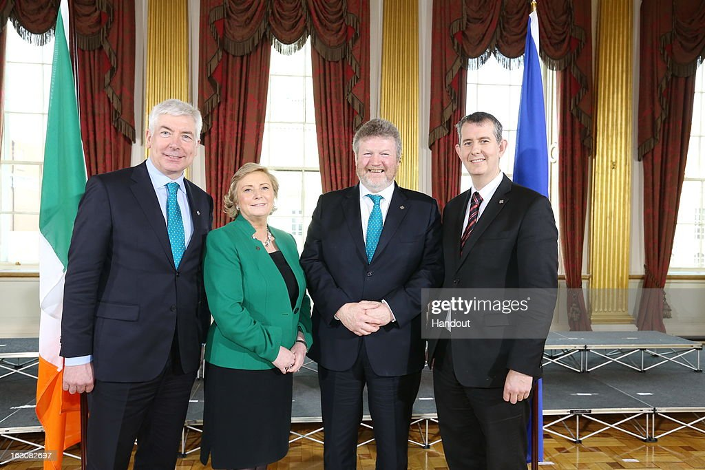 Ireland's Minister for Health Hosts Informal Meeting Of European Health Ministers : News Photo