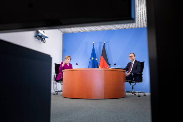 DEU: Merkel And States Leaders Meet Over Lockdown Policy