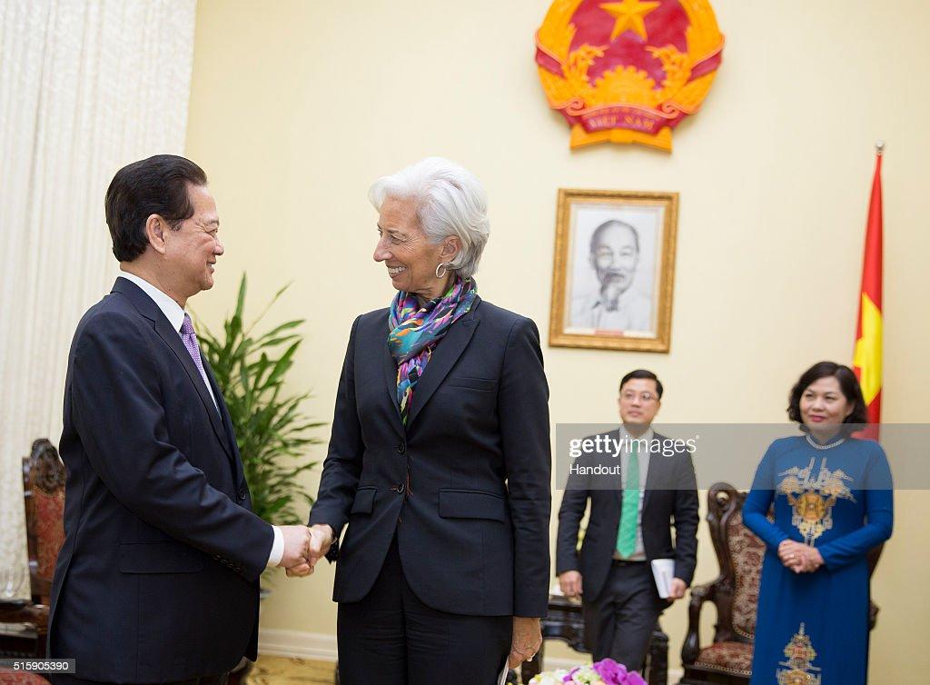 IMF Director Christine Lagarde Visits Vietnam