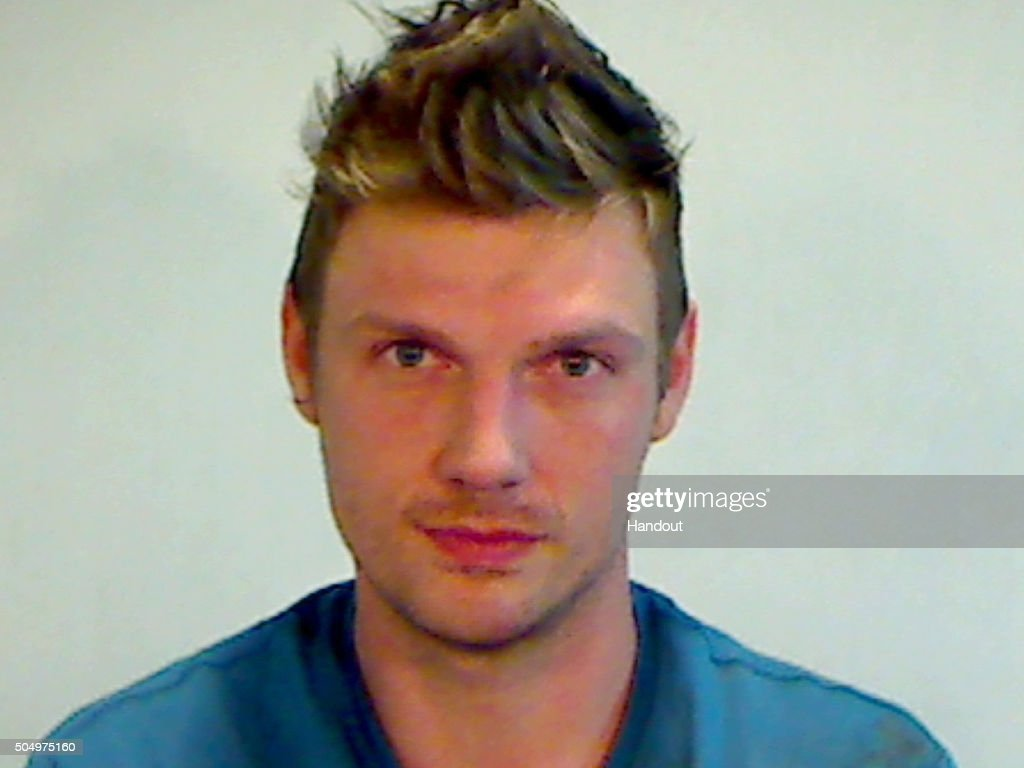Singer Nick Carter Booking Photo