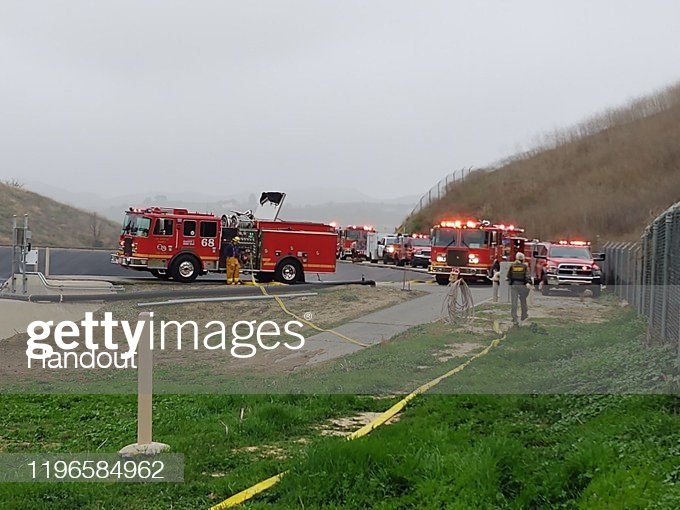Kobe Bryant Reportedly Killed In Helicopter Crash In Calabasas Hills : Photo d'actualité