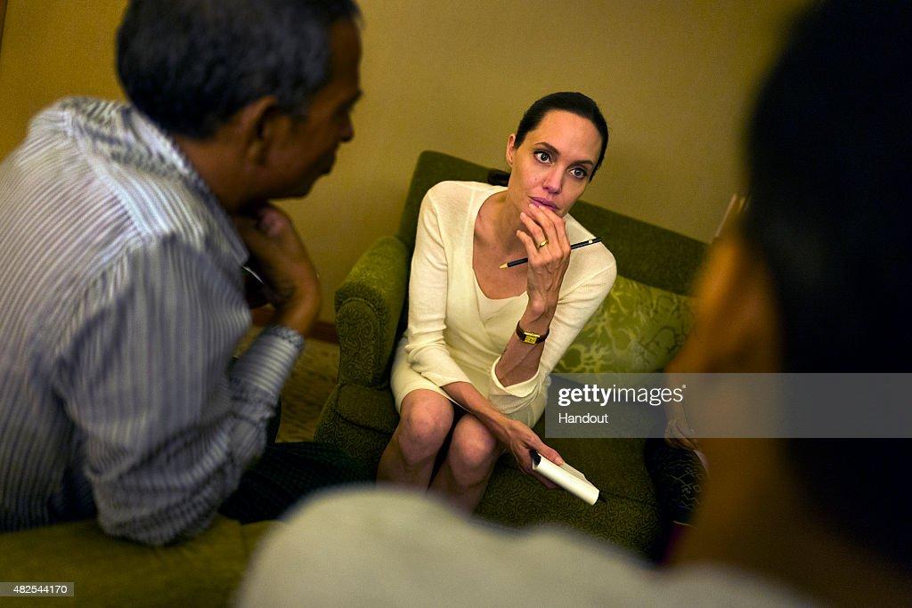 Maddox Jolie-Pitt Foundation Visit : News Photo