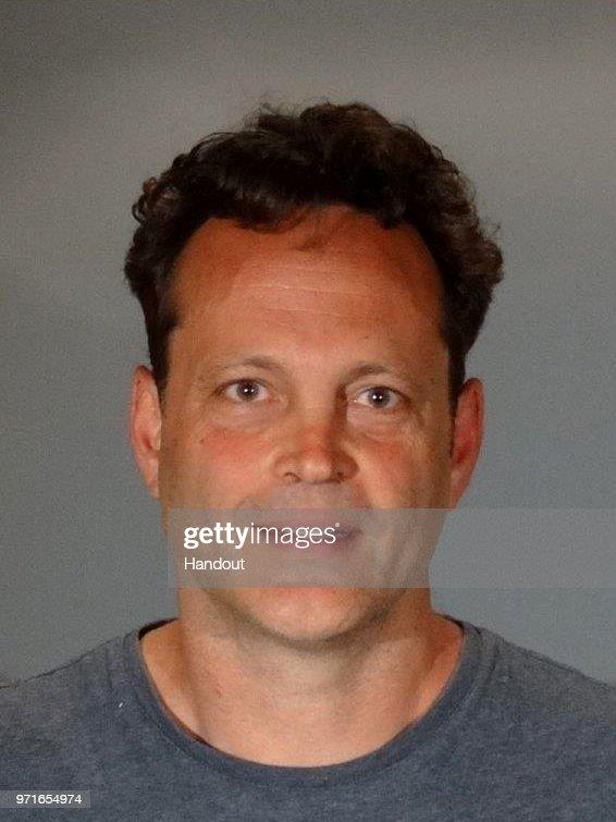 Actor Vince Vaughn Police Booking Photo